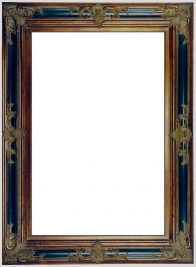 Black & Gold Gothic Frame