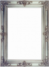 Silver Gothic Frame